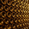 Stock Photo: Vintage bottles in the wine cellar