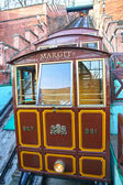 Funicular in Budapest. Hungary — Stock Photo