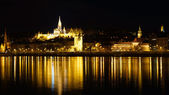Budínský hrad v budapešti, maďarsko — Stock fotografie