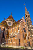 Reformed Church in Budapest, Hungary — Stock Photo