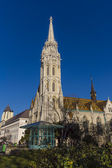 Matthias Church located in Budapest, Hungary — Foto de Stock