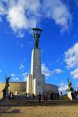 Freedom Monument on Gellert Hill, Budapest, Hungary — Stock Photo