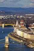 Budynek parlamentu w budapeszcie, węgry — Zdjęcie stockowe