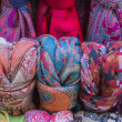 Stock Photo: Background of beautiful textiles