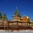 The wooden palace of Tsar Alexei Mikhailovich in Kolomenskoye pa — Stock Photo #39828017