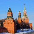 Stock Photo: Towers of Moscow Kremlin, Russia
