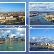 Collage of landmarks of Budapest, Hungary — Stock Photo #39828289