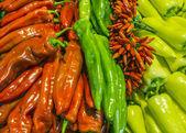 Multicolored pepper — Stock Photo