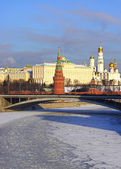 Russian capital of Moscow Kremlin, Russia — Stock Photo