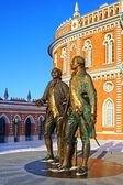 царицыно недвижимости музей, москва, россия. — Стоковое фото