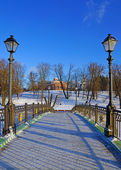 Tsaritsyno Estate Museum, Moscow, Russia — Stock Photo