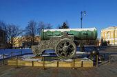 Tsar Cannon, Moscow Kremlin, Russia — Stock Photo