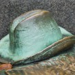 Bronze hat — Stock Photo #40664657
