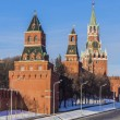 Towers of Moscow Kremlin, Russia — Stock Photo #41473179