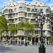 Stock Photo: BARCELONA, SPAIN - SEPTEMBER 1, Modernism style architecture. Ca