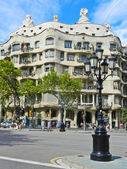 BARCELONA, SPAIN - SEPTEMBER 1, Modernism style architecture. Ca — Stock Photo