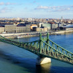 Liberty Bridge Budapest, Hungary — Stock Photo #49308285