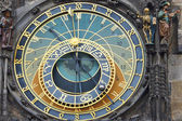 Astronomical clock on the town hall. Prague, Czech Republic — Стоковое фото