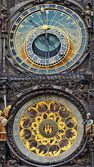 Astronomical clock on the town hall. Prague, Czech Republic — Stock Photo