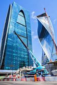 MOSCOW, RUSSIA-MAY 26:. Skyscrapers of the International Busines — Stock Photo