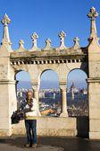 Budapest, hongarije-januari 6. weergave van het hongaarse parlement th — Stockfoto