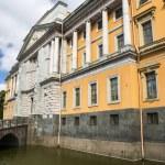 Mikhailovsky Castle in St. Petersburg, Russia — Stock Photo #49310425