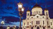 Chrystusa zbawiciela katedry, moskwa — Zdjęcie stockowe