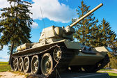 Russian tank T-34-76. — Stock Photo