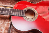 Acoustic guitar. — Stockfoto