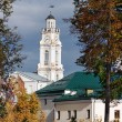 Clock tower on City Hall in Vitebsk. — Stock Photo #39519549