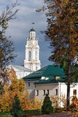 Clock tower on City Hall in Vitebsk. — Stock Photo