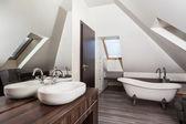 Wiejski dom - łazienka — Zdjęcie stockowe