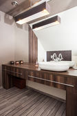 Country home - bathroom — 图库照片