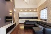 Grand design - Minimalist room — Stock Photo