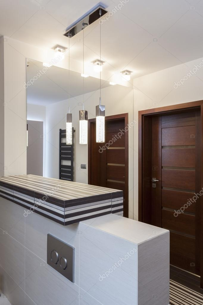 Grand Design Bathroom Interior Stock Photo