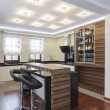 Grand design - Kitchen - Foto Stock