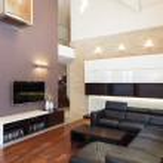 Grand design - Living room — Stock Photo