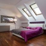 Purple bedroom — Stock Photo #26401047