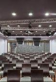 Hotel bois - salle de conférence — Photo