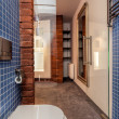 Foto Stock: Opened cosy bathroom