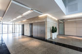 Corridor in business centre — Stock Photo