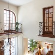 Classy house - View from second floor — Stock Photo