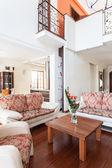 Classy house - bright interior — Stock Photo