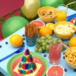 Stock Photo: Children summer feast