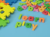 Learn and play — Stock Photo