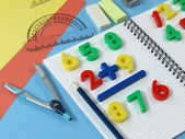 Math's learning — Stock Photo