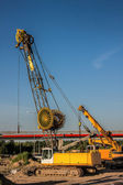 Automobile crane — Stock Photo