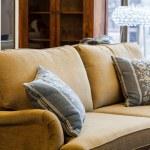 Light brown sofa — Stock Photo #27660175