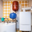 Stock Photo: Vintage mansion - boiler room