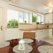 Stock Photo: Vintage mansion - kitchen table